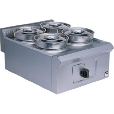 Falcon bain marie 4 pots maggie lo catering equipment for Cuisson four bain marie
